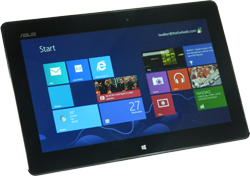 Windows based tablet for e-Fuel Mobile